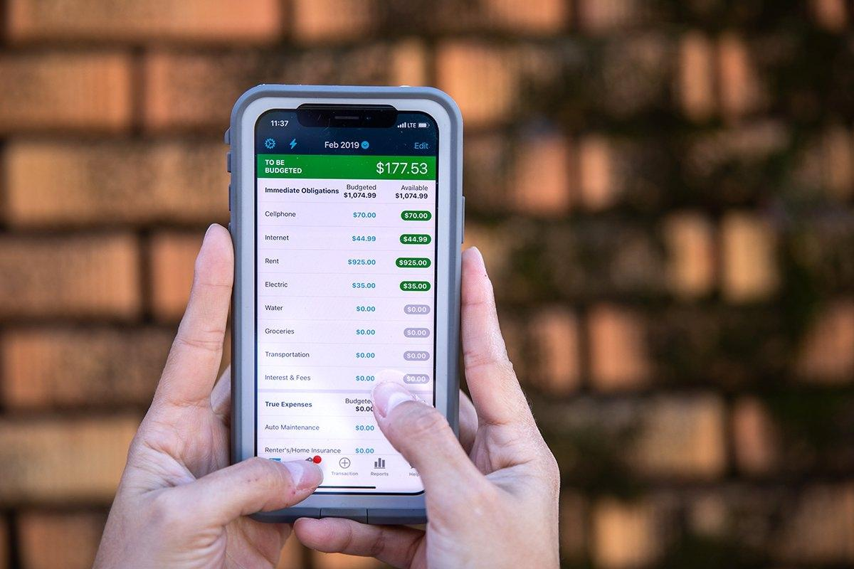 budgeted app presupuestaria